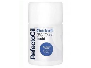 REFECTOCIL Oxidant Liquid 3% - tekutý peroxid pro barvy na obočí a řasy 100ml
