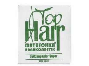 MATUSCHKA Top Hair - kadeřnické papírky na trvalou ondulaci 500ks