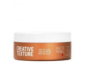 GOLDWELL Texture Matte Rebel Clay 75ml - matující hlína na vlasy