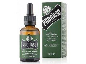 PRORASO Refreshing Olej na plnovous s vůní eukalyptu a bergamonu 30ml