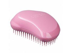 TANGLE TEEZER Original Glitter Pink - profi kartáč na rozčesávání vlasů - růžový s flitrami