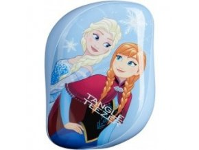 TANGLE TEEZER Compact Disney Frozen Elsa and Anna - limitovaná edice kompaktního kartáče