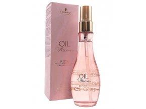 SCHWARZKOPF BC Oil Ultime Rose Finishing Oil 100ml - vyživující sérum s olejem z růží