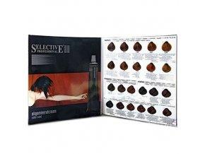SELECTIVE Professional Vzorník barev Selective Oligomineral Cream 100ml