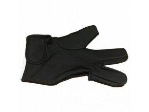 HAIR STYLE Teplu odolná ochranná rukavice na žehlení a kulmování vlasů - tří prstá