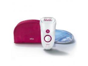 BRAUN SE 5185 Silk-épil 5 Legs Epilator - dámský epilátor + chladivá rukavice