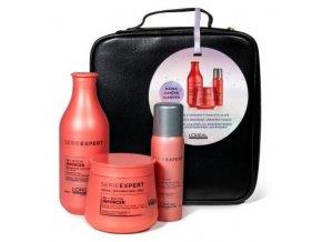 LOREAL Gift Set Inforcer - dárkový balíček vlasové péče pro křehké lámavé vlasy