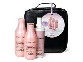 LOREAL Gift Set Vitamino Color - dárková sada pro pro lesk a dlouhotrvající barvu