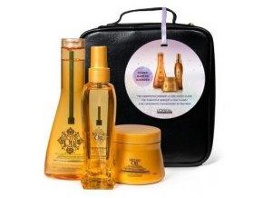 LOREAL Gift Set Mythic Oil - dárkový balíček pro lesk a výživu vašich vlasů