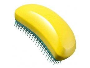 TANGLE TEEZER Salon Elite Sunshine Dew - kartáč na rozčesávání vlasů - žluto zelený