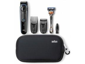 BRAUN BT 3940 Beard Trimmer zastřihovač vousů a vlasů + holicí strojek Gillette
