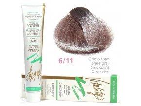 VITALITYS Green Permanentní krémová barva na vlasy - Myší šeď 6-11