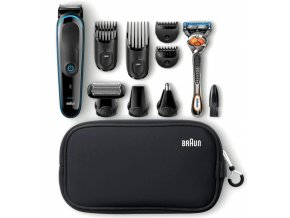 BRAUN MGK 3980 All-in-one Trimmer 9in1 víceúčelový zastřihovač + holicí strojek Gillette