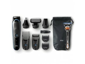 BRAUN MGK 5080 All-in-one Trimmer 9in1 víceúčelový zastřihovač + holicí strojek Gillette