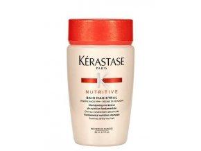 KÉRASTASE Nutritive Bain Magistral 80ml - vyživující šampon pro silně vysušené vlasy