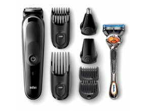 BRAUN MGK 5060 All-in-one Trimmer 8in1 víceúčelový zastřihovač + holicí strojek Gillette