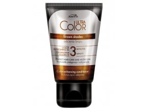 JOANNA Ultra Color Brown Shades Conditioner 100g - barvicí kondicionér
