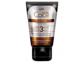 JOANNA Ultra Color Brown Shades Conditioner 100g - barvicí kondicionér