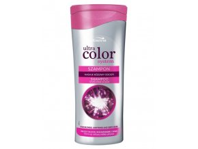 JOANNA Ultra Color Pink Shampoo 200ml - šampon pro pro blond, zesvětlené vlasy