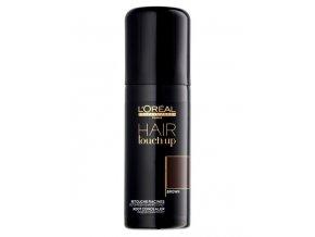 LOREAL Professionnel Hair Touch Up Brown 75ml - sprej pro krytí šedin a odrostů - hnědý