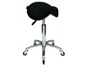 HAIRWAY Nábytek Kadeřnický taburet Comfort 2 sedlo - ergonomicky tvarovaný