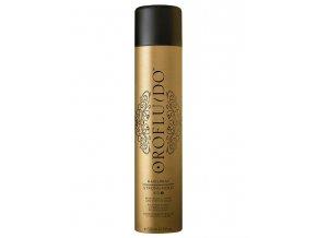 OROFLUIDO Strong Hold Hairspray 500ml - silně tužící lak pro lesk vlasů
