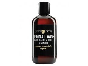 LUMBER CRAFT Original Wash Shampoo 250ml - šampon na vousy, vlasy a tělo