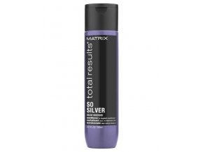 MATRIX Total Results SoSilver Conditioner 300ml - kondicionér pro blond a šedé vlasy