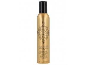 OROFLUIDO Curly Mousse Strong Hold 300ml - silně tužící pěna pro vlnité vlasy