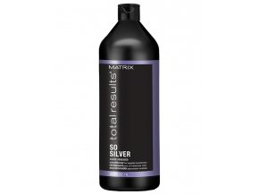 MATRIX Total Results SoSilver Conditioner 1000ml - kondicionér pro blond a šedé vlasy