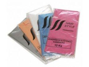 HAIR STYLE Jednorázové kadeřnické igelitové pláštěnky Long 10ks