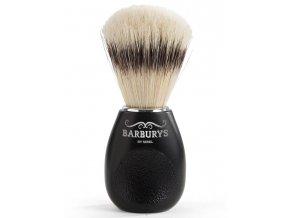 BARBURYS Code Ergo Štětka na holení - černá