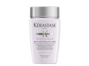 KÉRASTASE Specifique Bain Anti-Pelliculaire Shampoo 80ml - omezuje tvorbu lupů až na 8 týdnů