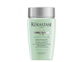 KÉRASTASE Specifique Bain Divalent 80ml - šampon na mastnou pokožku a suché konečky