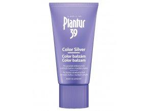 PLANTUR 39 Color Silver kofeinový balzám pro stříbrný lesk blond vlasů 150ml
