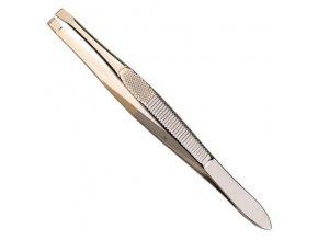 SIBEL Épil Hair Pro Pinzeta úzká, rovná se zlatým zakončením - 95mm