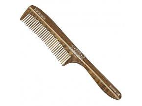 BARBURYS Rosewood  Combs 05 - Hřeben s ručkou z palisandrového dřeva 180mm