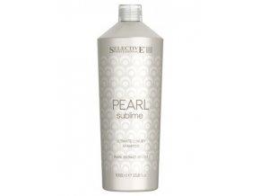 SELECTIVE Pearl Ultimate Luxury Shampoo 1000ml - šampón pro světlé vlasy
