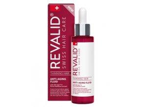 REVALID Thinning Hair Anti-Aging Fluid 100ml - serum proti šedivění a stárnutí vlasů