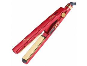 BABYLISS PRO 3091DRTE RED Titanium Ionic - profi žehlička vlasů s titanovými destičkami