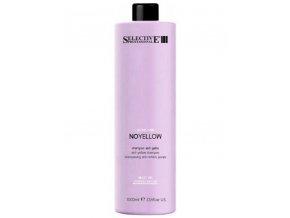 SELECTIVE ON Care Silver Power Shampoo - šampon na melírované vlasy 1000ml