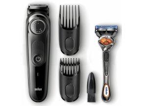 BRAUN BT 3040 Beard Trimmer zastřihovač vousů a vlasů + holicí strojek Gillette