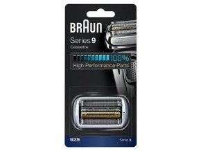 BRAUN Series 9-92S CombiPack Silver - náhradní planžeta pro strojky Braun Series 9 - stříbrná