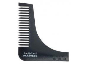 BARBURYS Barberang Hřebínek na tvarování vousů