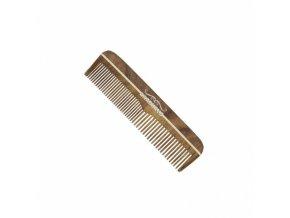 BARBURYS Rosewood Mustache MINI - Hřebínek z palisandrového dřeva pro úpravu knírků a vousů