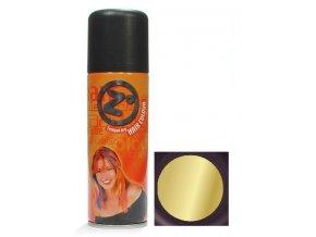 Z GOOD MARK Gold Barevný lak na vlasy 125ml - Barva na vlasy ve spreji - zlatá