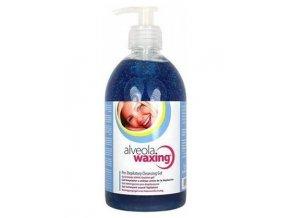 ALVEOLA Waxing Pre-Depilatory Cleansing Gel před depilací s měsíčkem 500ml