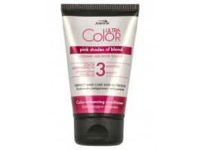 JOANNA Ultra Color Pink Shades Conditioner 100g - barvicí kondicionér