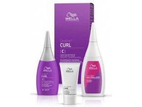 WELLA Curl SET Creatine+ C 30+75+100ml - trvalá pro barvené a jemné vlasy