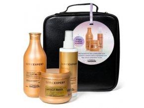 LOREAL Gift Set Absolut Repair - dárkový balíček vlasové péče pro poškozené vlasy